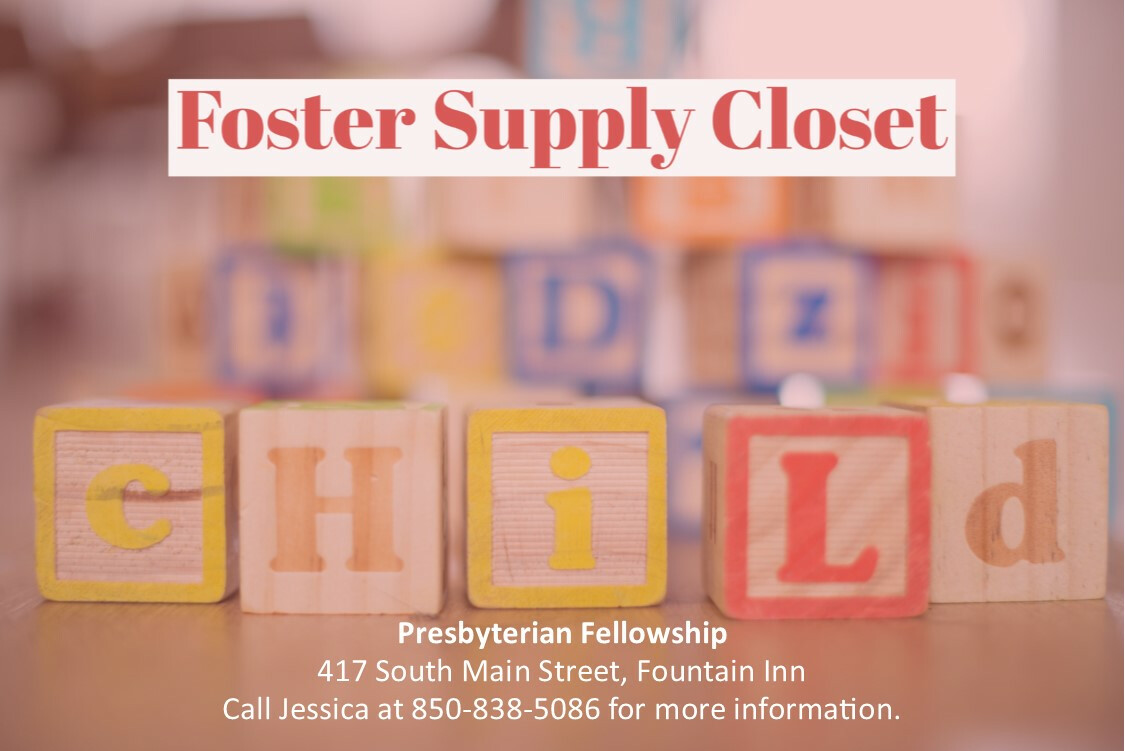 Foster Supply Closet Open